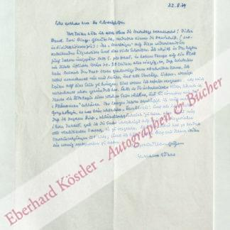 Stahl, Hermann, Schriftsteller (1908-1998).