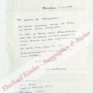Tomeo, Xavier, Schriftsteller (geb. 1932).