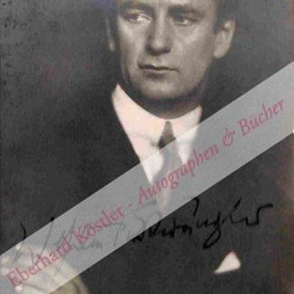 Furtwängler, Wilhelm, Dirigent (1886-1954).