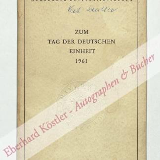 Schiller, Karl (August Fritz), Wirtschaftswissenschaftler und Politiker (1911-1994).