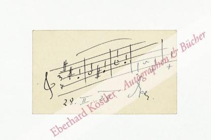Eysler, Edmund, Komponist (1874-1949).