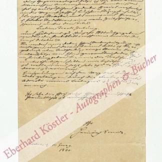 Smidt, Heinrich (Pseud. Smidt von Altona), Schriftsteller und Archivar (1798-1867).