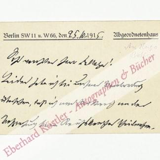 Friedberg, Robert, Nationalökonom und Politiker (1851-1920).