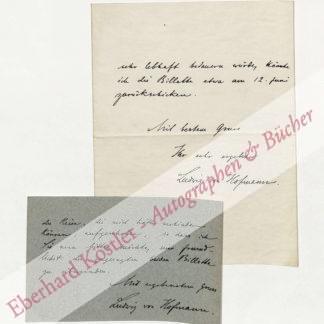 Hofmann, Ludwig von, Maler und Graphiker (1861-1945).