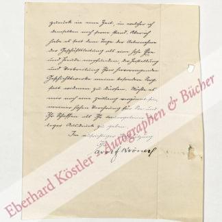 Kröner, Adolf von, Verleger (1836-1911).