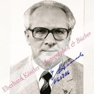 Honecker, Erich, Politiker (1912-1994).