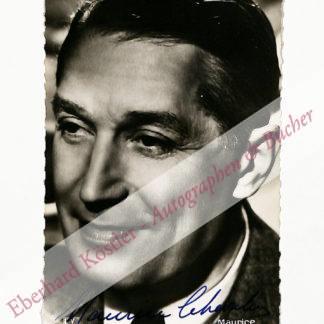 Chevalier, Maurice, Schauspieler und Chansonsänger (1888-1972).