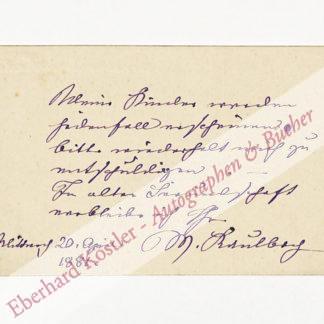Kaulbach, Mina (Wilhelmine), Gattin von Friedrich August von Kaulbach (1849-1934).
