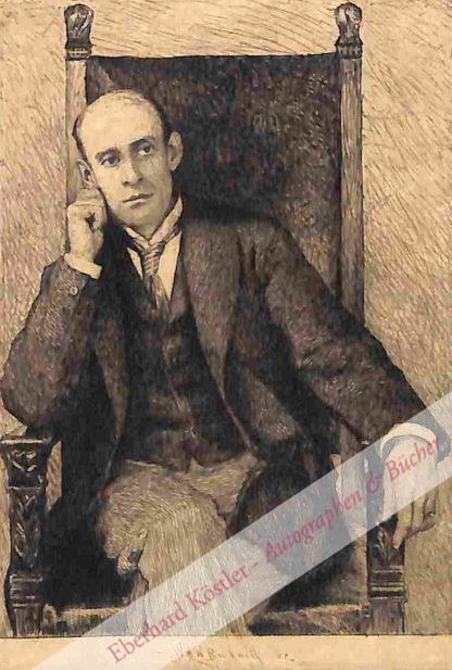 Field, Eugene, Schriftsteller (1850-1895).