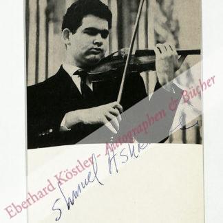 Ashkenazy, Shmuel, Geiger (geb. 1940).