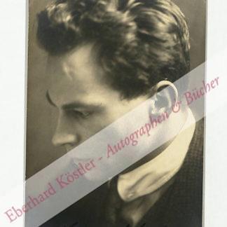 Kupfer, Hermann, Schauspieler (1892-?).