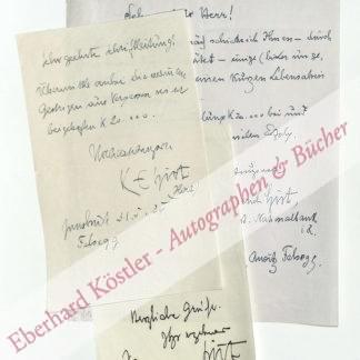 Hirt, Karl Emerich, Schriftsteller und Bankier (1866-1963).