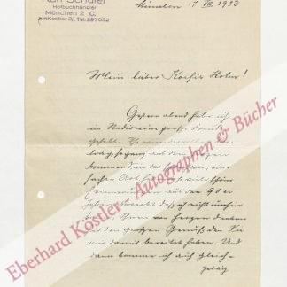 Schüler, Karl, Buchhändler (1860-?).