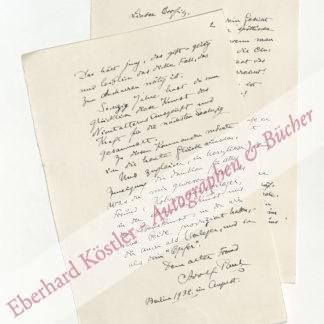 Paul, Adolf, Schriftsteller (1863-1943).