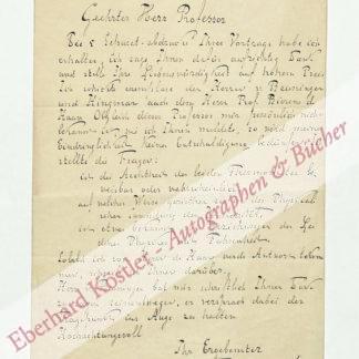 Baert, Johannes Franciscus Benjamin, Jurist und Nationalökonom (1833-1909).