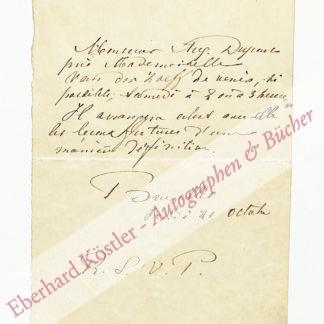 Dupont, Auguste, Pianist und Komponist (1827-1890).