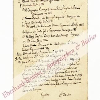 Düntzer, Heinrich, Philologe und Literaturhistoriker (1813-1901).