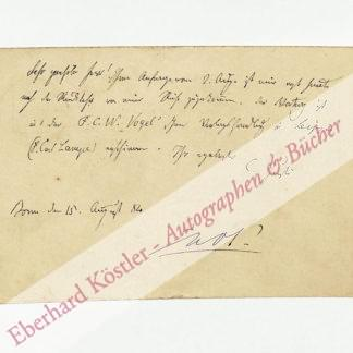 Justi, Carl, Kunsthistoriker und Philosoph (1832-1912).