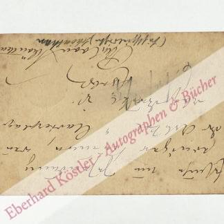Schönthan, Paul von, Schriftsteller (1853-1905).