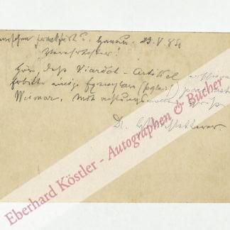 Schletterer, Hans Michael, Musikpädagoge und Komponist (1824-1893).