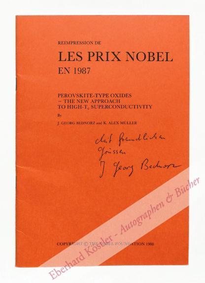 Bednorz, Johannes Georg, Physiker und Nobelpreisträger (geb. 1950).