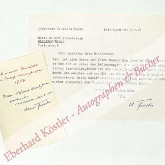 Fuchs, Alois Johannes, Kunsthistoriker (1877-1971).