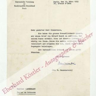 Hausenstein, Wilhelm, Kunsthistoriker und Diplomat (1882-1957).