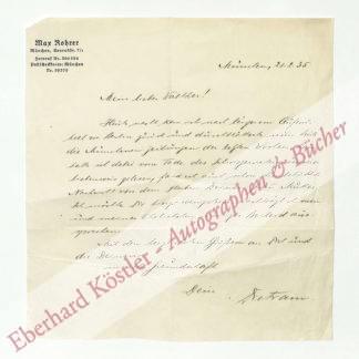 Rohrer, Max, Schriftsteller (1887-1966).