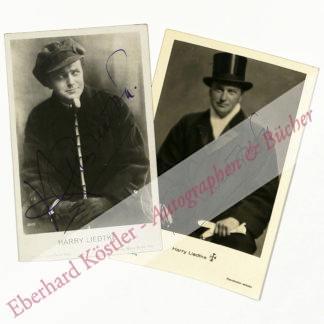 Liedtke, Harry, Schauspieler (1882-1945).