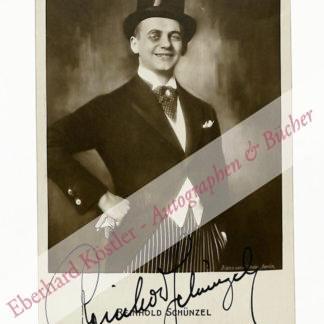 Schünzel, Reinhold, Schauspieler (1888-1954).