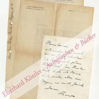 Richter, Hans Werner, Schriftsteller, Mentor der Gruppe 47 (1908-1993).