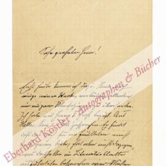 Poestion, Josef Calasanz, Bibliothekar und Skandinavist (1853-1922).