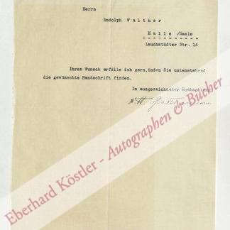 Spethmann, Johannes, Geograph (1885-1957).