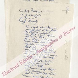 Brandt, Kurt Paul Georg, Schriftsteller (1928-1981).
