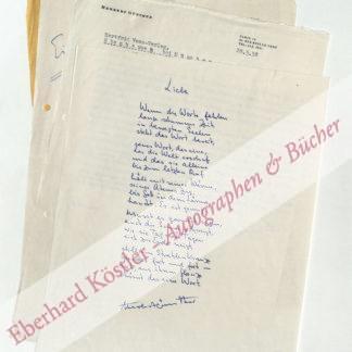 Günther, Herbert, Schriftsteller (1906-1978).