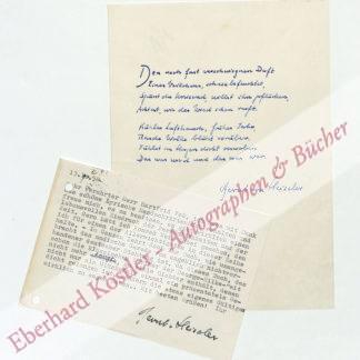 Heiseler, Bernt von, Schriftsteller (1907-1969).