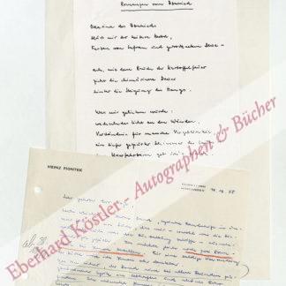 Piontek, Heinz, Schriftsteller (1925-2003).