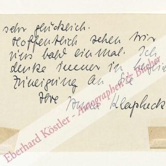 Klapheck, Anna, Kunsthistorikerin (Daten nicht ermittelt).