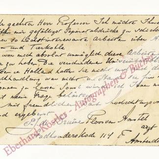 de Bruïne Ploos van Amstel, Pieter Johannes, Pharmakologe (1864-1939).