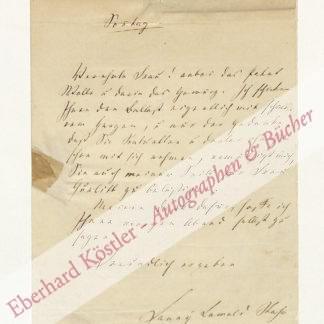 Lewald-Stahr, Fanny, Schriftstellerin (1811-1889).