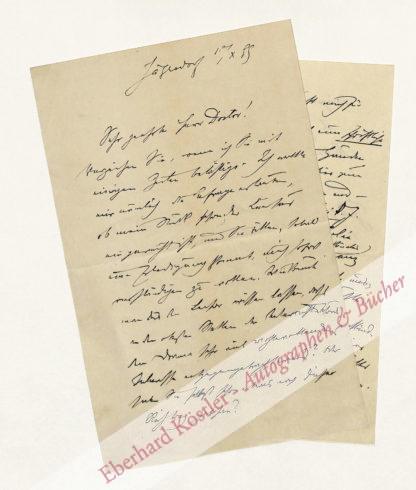 Bronner, Ferdinand, Schriftsteller (1867-1948).