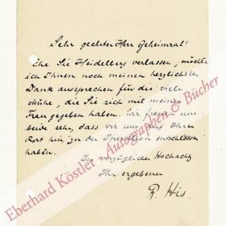 His, Rudolf, Rechtshistoriker (1870-1938).
