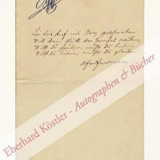 Friedmann, Alfred, Schriftsteller (1845-1923).