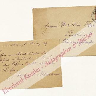 Niemann, August, Schriftsteller (1839-1919).