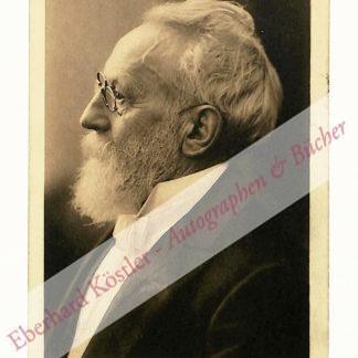 Stettenheim, Julius, Schriftsteller und Journalist (1831-1916).