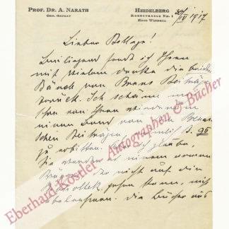 Narath, Albert, Chirurg (1864-1924).
