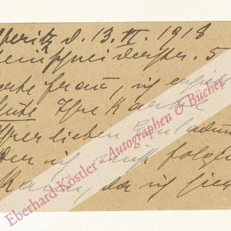 Meisel-Heß (verh. Gellert), Grete, Schriftstellerin und Frauenrechtlerin (1879-1922).