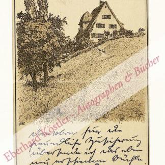 Finkh, Ludwig, Schriftsteller (1876-1964).