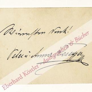Rosegger, Anna, Gattin des Schriftstellers Peter R. (1843-1918).
