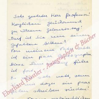 Mitscherlich, Alexander, Psychoanalytiker und Schriftsteller (1908-1982).